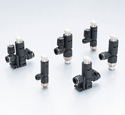 Miniature Pressure Regulators/Push-Lock