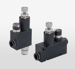 Miniature Pressure Regulators with Gauge
