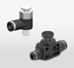 Push Button 2-Way Valve